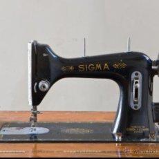 Antigüedades: ANTIGUA MAQUINA DE COSER SIGMA A 107-6. Lote 45581287