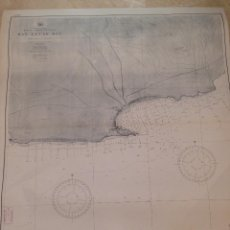 Antigüedades: HYDROGRAPHIC OFFICE US NAVY MAP 1898 MEXICO LOWER CALIFORNIA SAN LUCAS BAY. Lote 45583564