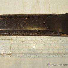 Antigüedades: REGLA DE CÁLCULO FABER CASTELL 67/54, CON SU FUNDA. 15,5 X 4 CMS.. Lote 45618168