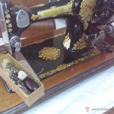 Antigüedades: MAQUINA DE COSER RUSHBY. Lote 45638188