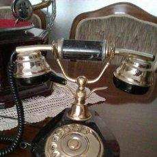 Teléfonos: PRECIOSO TELEFONO EN MARMOL MADE IN ITALY AÑOS 60 FUNCIONA Y MUY BIEN CONSERVADO VINTAGE ANTIGUO. Lote 45640918