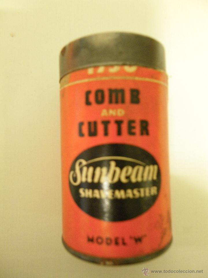 Antigüedades: ANTIGUA CAJA CARTÓN COMB AND CUTTER, SUNBEAM-SHAVEMASTER, MODEL-W - Foto 1 - 45673168