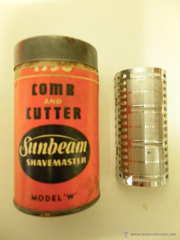 Antigüedades: ANTIGUA CAJA CARTÓN COMB AND CUTTER, SUNBEAM-SHAVEMASTER, MODEL-W - Foto 2 - 45673168