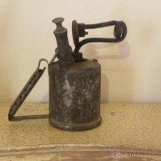 Antigüedades: BONITO SOPLETE, CON ETIQUETA DE INSTRUCCIONES EN INGLES. Lote 45673378