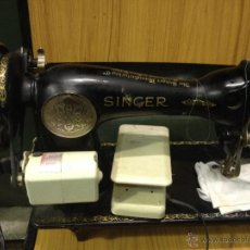 Antigüedades: MAQUINA DE COSER SINGER AÑO1933. Lote 45683691