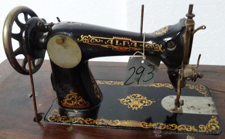 Antigüedades: MÁQUINA DE COSER ALFA SIGLO XX, 6000-293 - Foto 7 - 45732104
