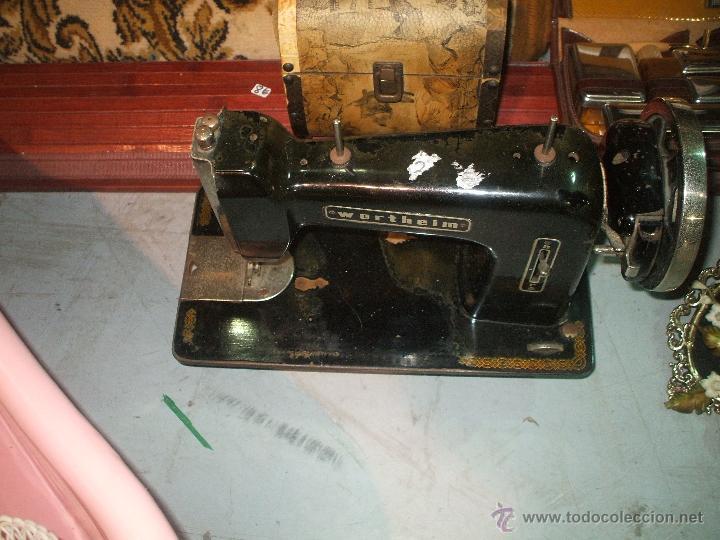 MAQUINA DE COSER WHERTHEIM ES DE LOS AÑOS 30 (Antigüedades - Técnicas - Máquinas de Coser Antiguas - Wertheim )