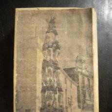Antigüedades: ANTIGUO TROQUEL DE IMPRENTA, CASTELLERS NENS DEL VENDRELL 1940'S BISBAL DEL PENEDES.. Lote 45791806