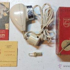 Antigüedades: MAQUINA DE AFEITAR PHILISHAVE TYPE 7769 CON CAJA, CERTIFICADO, LIBRO INSTRUCCIONES Y CEPILLO.PHILIPS. Lote 45811975