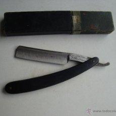 Antigüedades: NAVAJA DE AFEITAR FILARMÓNICA DE JOSÉ MONSERRAT POU . Lote 45841893