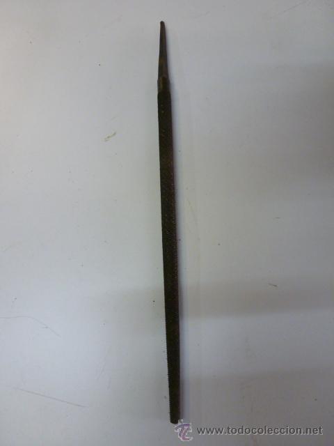 LIMA REDONDA DE 32 CM LONGUITUD, SIN MANGO (Antigüedades - Técnicas - Herramientas Profesionales - Mecánica)