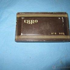 Antigüedades: ANTIGUO TAMPON MARCA EBRO TINTA PARA SELLOS. Lote 45872060