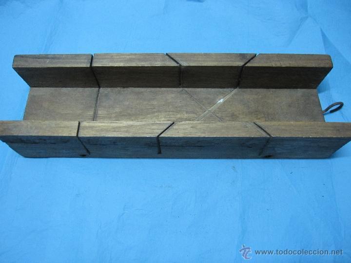 ANTIGUA INGLETADORA DE MADERA AÑOS 60-70 (Antigüedades - Técnicas - Herramientas Profesionales - Carpintería )