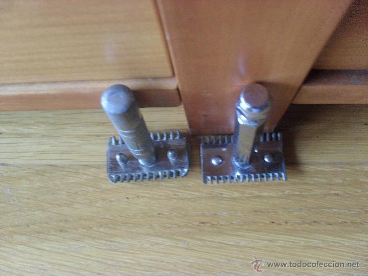 Antigüedades: 2 maquinillas de afeitar manual, sin marca, - Foto 2 - 45922023