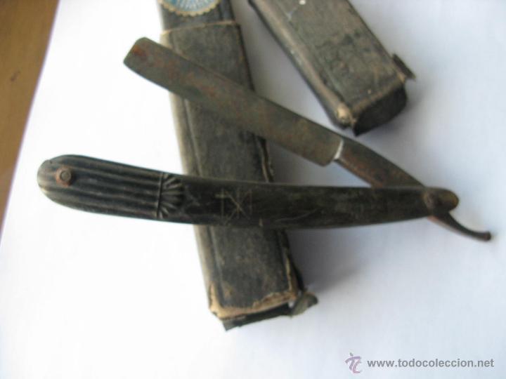 Antigüedades: navaja afeitar. solingen. guillermo hope. sello de juan castañon exposicion 1907 (PARA LIMPIAR) - Foto 3 - 45929948