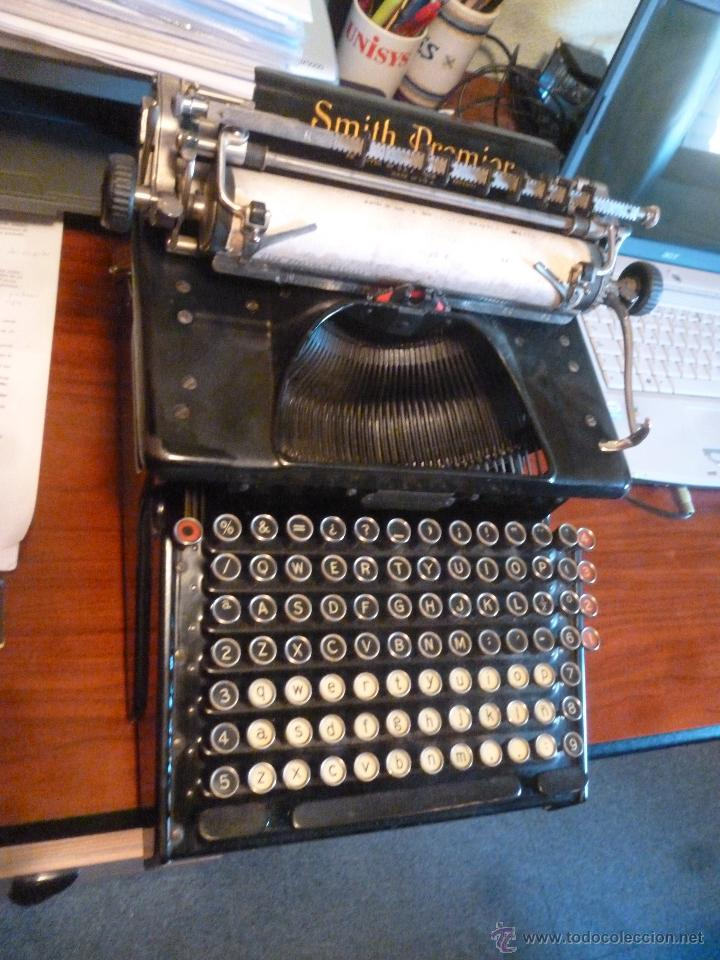 MÁQUINA DE ESCRIBIR SMITH PREMIR (Antigüedades - Técnicas - Máquinas de Escribir Antiguas - Smith)