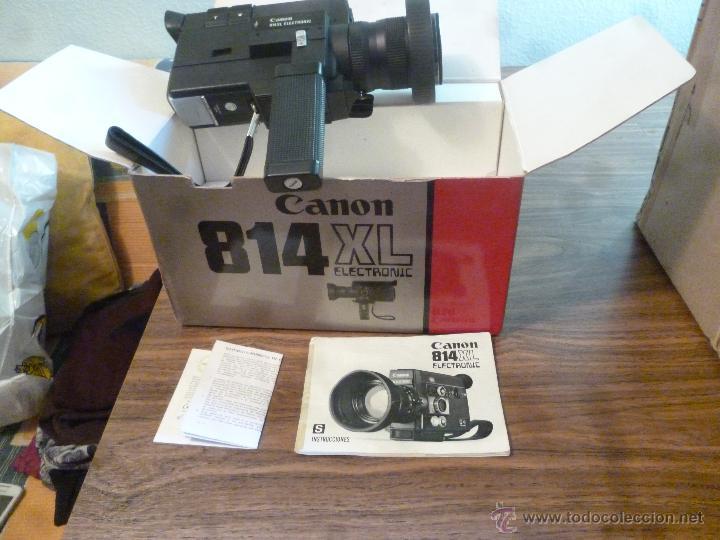 TOMAVISTAS CANNON 814 XL (Antigüedades - Técnicas - Aparatos de Cine Antiguo - Tomavistas Antiguos)