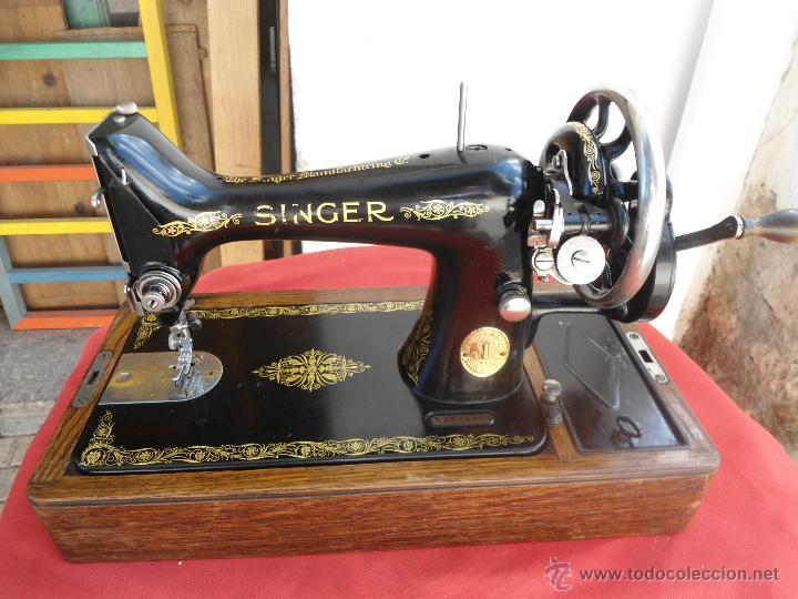 Antigua máquina de coser singer año 1924 (atasc - Vendido