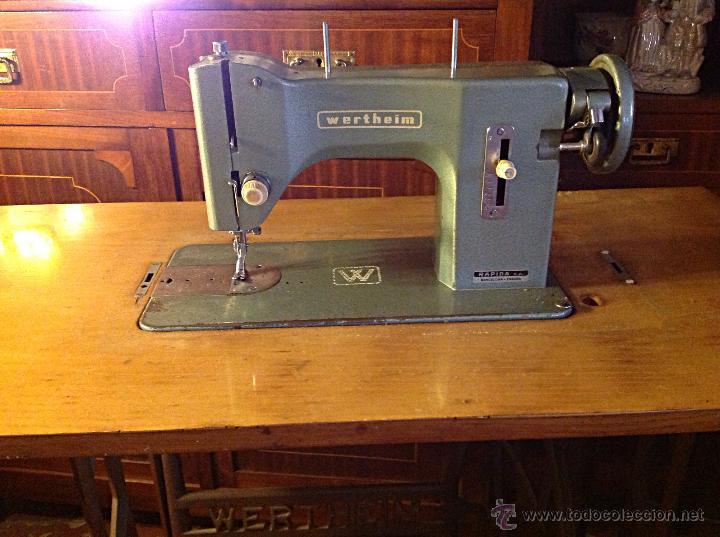 Antigüedades: Bonita máquina de coser WERTHEIM - Foto 2 - 45959056