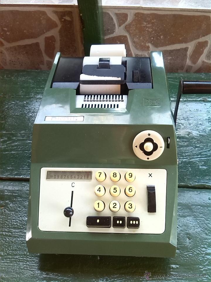 ANTIGUA CALCULADORA OLIVETTI, HACIA 1950-60 (Antigüedades - Técnicas - Aparatos de Cálculo - Calculadoras Antiguas)