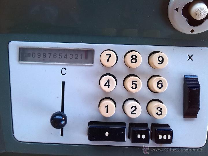Antigüedades: antigua calculadora olivetti, hacia 1950-60 - Foto 3 - 45964593