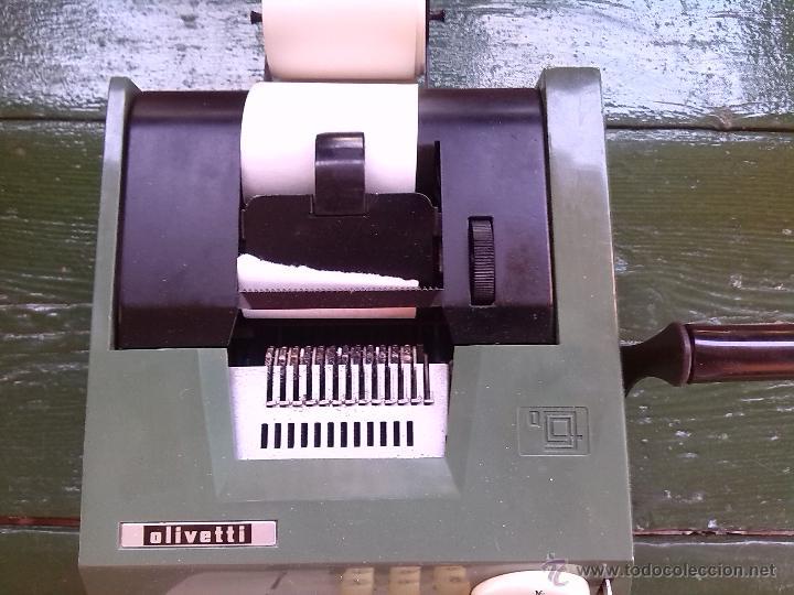 Antigüedades: antigua calculadora olivetti, hacia 1950-60 - Foto 4 - 45964593