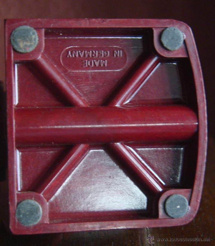 Antigüedades: SACAPUNTAS MANUAL DE SOBREMESA EN BAKELITA MARCA STAEDTLER REF- 501 20 GERMANY AÑOS 30 40 - Foto 5 - 46015840