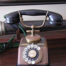 Phones - TELÉFONO ANTIGUO TOTALMENTE ORIGINAL. ADAPTADO A CONEXIÓN ACTUAL. - 46021342