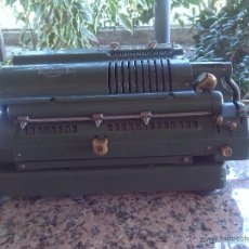 Antigüedades: ANTIGUA CALCULADORA TRIUMPHATOR.. Lote 46093461