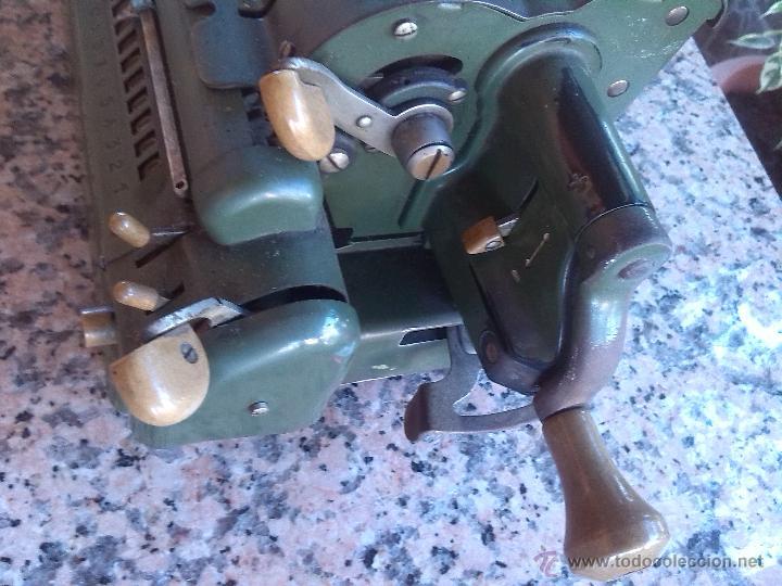 Antigüedades: antigua calculadora triumphator. - Foto 3 - 46093461