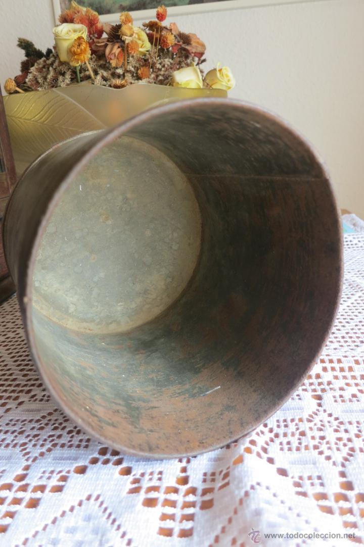 Antigüedades: medida para liquidos de doble litro - Foto 5 - 46106491