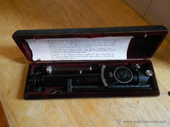Antigüedades: POLARIMETRO O POLAROSCOPIO ERNST LEITZ WETZLAR DE 1930 POLARIMETER POLAROSCOPIC - Foto 3 - 46119631