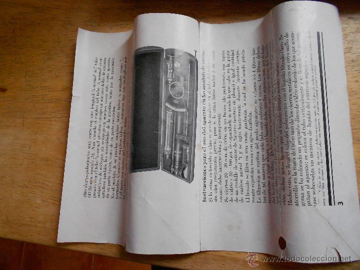 Antigüedades: POLARIMETRO O POLAROSCOPIO ERNST LEITZ WETZLAR DE 1930 POLARIMETER POLAROSCOPIC - Foto 5 - 46119631