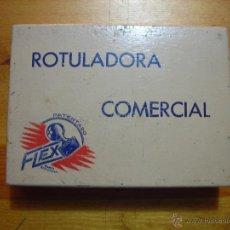 Antiquités: CAJA DE MADERA CON LETRAS DE IMPRENTA DE MADERA.. Lote 46146673