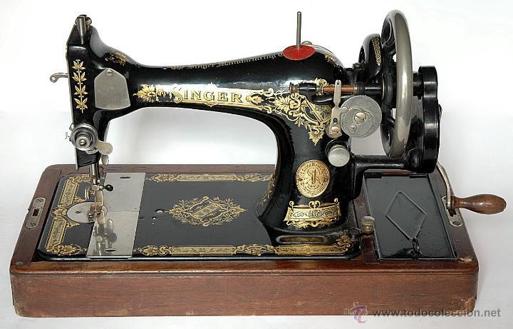 Antigua máquina de coser singer año 1930 manual - Vendido