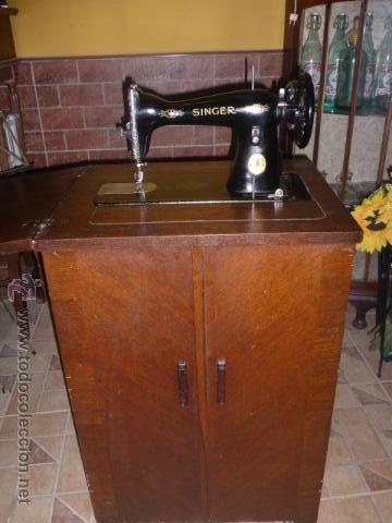 Antigua maquina de coser de la marca singer co comprar m quinas de coser antiguas singer en - Mueble maquina de coser ...