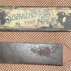 Antigüedades: SUAVIZADORES PARA NAVAJAS.. Lote 46250167