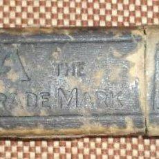 Antigüedades: ESTUCHE DE NAVAJA DE AFEITAR.. Lote 46250754