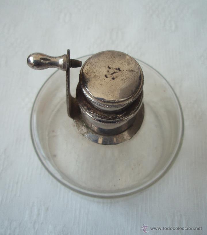 MECHERO, QUEMADOR PORTATIL DE USO MEDICO. SIGLO XIX. (Antigüedades - Técnicas - Herramientas Profesionales - Medicina)