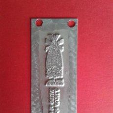 Antigüedades: CLICHE DE IMPRENTA. NTRA, SRA. DE LA VEGA. ALCALÁ DE LA SELVA. TERUEL. 8,1 X 3 CM.. Lote 46364524
