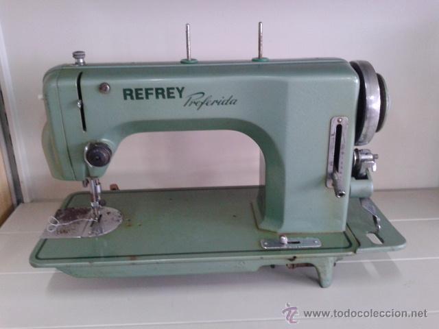 Maquina de coser refrey - preferida - - Vendido en Subasta