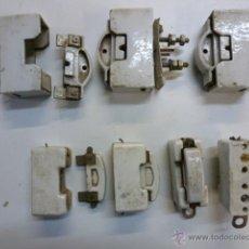 Antigüedades: LOTE MATERIAL ELECTRICO DE PORCELANA. Lote 46405447