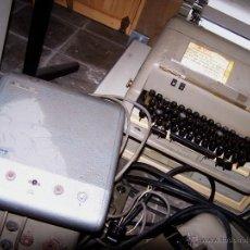 Antigüedades: TELETIPO O TELEX OLIVETTI, ORDENADOR MECANICO DE 5 BITS. Lote 46406072