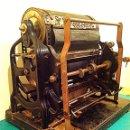 Antigüedades: ANTIGUO MÁQUINA MIMEÓGRAFO FUNCIONA DE COLECCIÓN ROTARY CYCOSTYLE D. GESTERLNERS Nº6 – 1880. Lote 46407431
