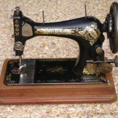 Antigüedades: MUY ANTIQUA MAQUINA DE COSER SINGER, AÑO 1907 FUNCIONA. Lote 45259136