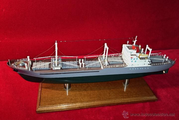 Antigua maqueta de barco mercante construido po comprar - Antiguedades de barcos ...