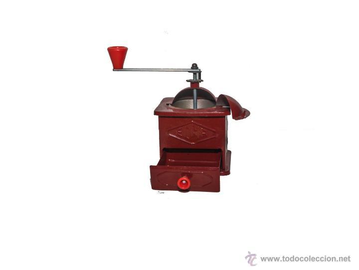 Antigüedades: Molinillo ELMA ROJO - Foto 5 - 46467428