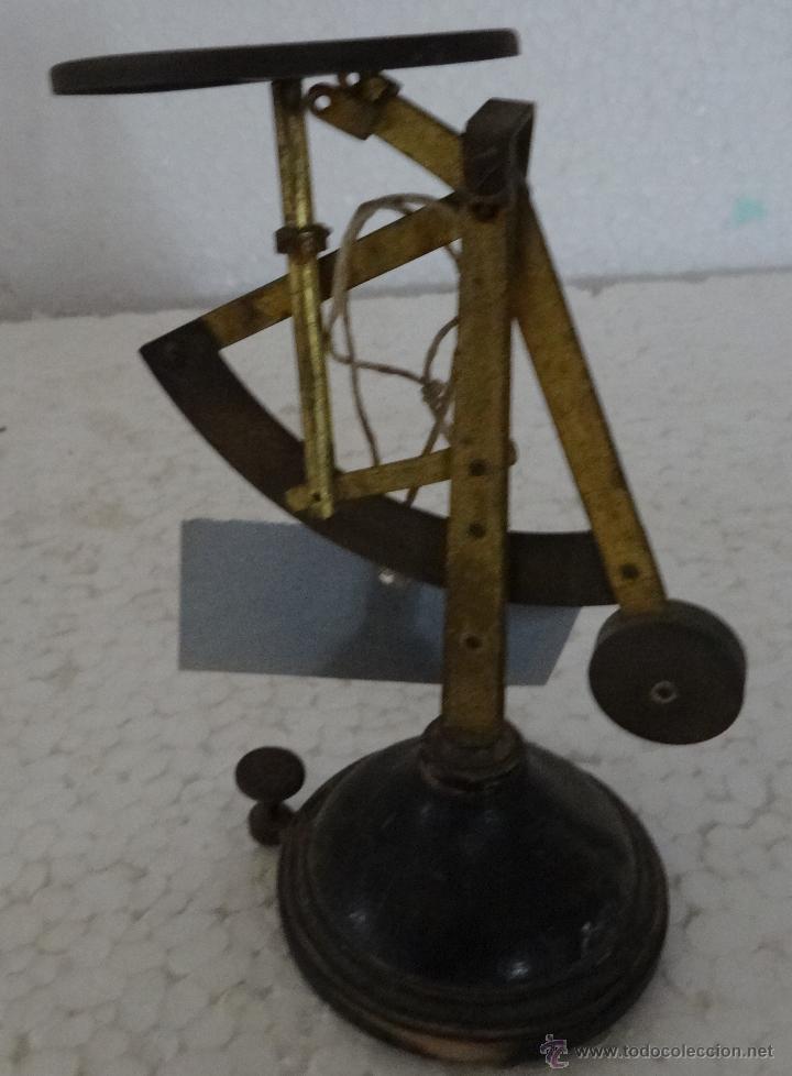 Antigüedades: BALANZA PARA PESAR CARTAS PRINCIPIOS SIGLO XX - XXX 411 - Foto 9 - 42964795
