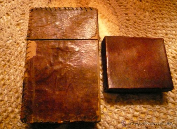 Antigüedades: MAQUINILLA AFEITAR Y MAQUINA PARA AFILAR HOJAS DE AFEITAR - Foto 4 - 46505043
