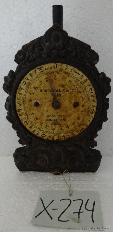 Antigüedades: BALANZA CARTA POSTAL - XXX 274 - Foto 2 - 43017031